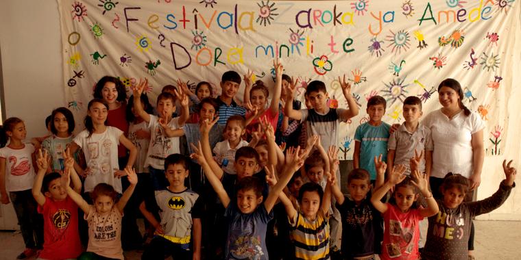 Rengarenk Umutlar Derneği - Çocuklar (Dernekte)
